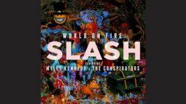 SLASH: World On Fire (2LP, black) (akciós!)