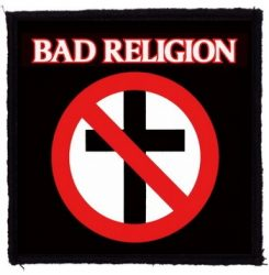 BAD RELIGION: Logo (95x95) (felvarró)