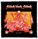 BLACK SABBATH: Bloody Sabbath (95x95) (felvarró)