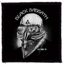 BLACK SABBATH: US Tour '78 (95x95) (felvarró)