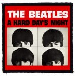 BEATLES: A Hard Days Night (95x95) (felvarró)