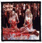 CANNIBAL CORPSE: Butchered (95x95) (felvarró)