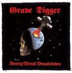 GRAVE DIGGER: Heavy Metal (95x95) (felvarró)