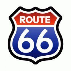 ROUTE 66 (75x80) (felvarró)