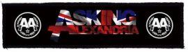 ASKING ALEXANDRIA: Logo Superstrip (20 x 5 cm) (felvarró)
