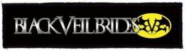 BLACK VEIL BRIDES: Logo Superstrip-(20 x 5 cm) (felvarró)