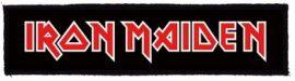 IRON MAIDEN: Logo Superstrip (20 x 5 cm) (felvarró)