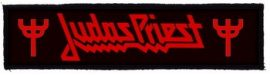 JUDAS PRIEST: Logo Superstrip (20 x 5 cm) (felvarró)