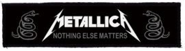 METALLICA: Nothing Superstrip (20 x 5 cm) (felvarró)