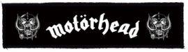 MOTORHEAD: Logo Superstrip (20 x 5 cm) (felvarró)