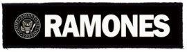 RAMONES: Logo Superstrip (20 x 5 cm) (felvarró)