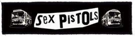 SEX PISTOLS: Buses Superstrip (20 x 5 cm) (felvarró)