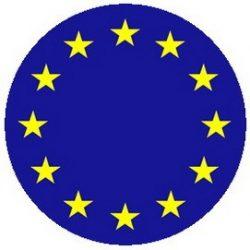 EU zászló (jelvény, 2,5 cm)