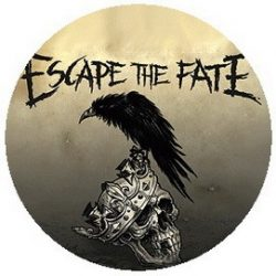 ESCAPE THE FATE: Ungrateful (jelvény, 2,5 cm)