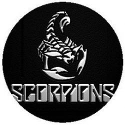 SCORPIONS: Logo (jelvény, 2,5 cm)