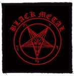 BLACK METAL (95x95) (felvarró)