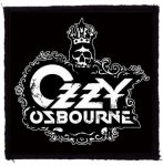 OZZY: Crest Logo (95x95) (felvarró)