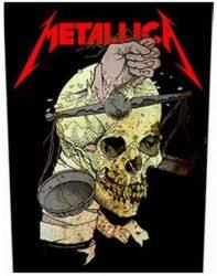 METALLICA: Harvester Of Sorrow (hátfelvarró / backpatch)