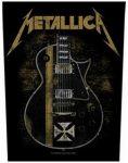 METALLICA: Hetfield Guitar (hátfelvarró / backpatch)