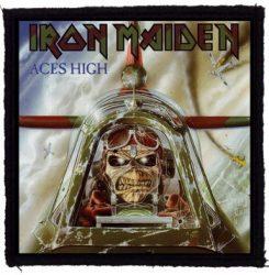 IRON MAIDEN: Aces High (95x95) (felvarró)