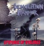 DEMOLITION HAMMER: Epidemic Of Violence (+4 bonus) (CD)