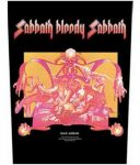 BLACK SABBATH: Sabbath Bloody Sabbath (hátfelvarró / backpatch)
