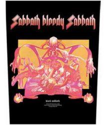 BLACK SABBATH: Sabbath Bloody Sabbath (hátfelvarró / backpatch)