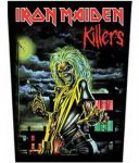 IRON MAIDEN: Killers (hátfelvarró / backpatch)