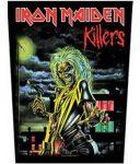 IRON MAIDEN: Killers (hátfelvarró / backpatch)