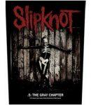SLIPKNOT: The Gray Chapter (hátfelvarró / backpatch)