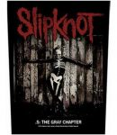 SLIPKNOT: The Gray Chapter (hátfelvarró / backpatch)