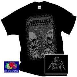 METALLICA: Black Album (póló)