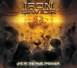 IRON SAVIOR: Live At The Final Frontier (2CD+DVD)