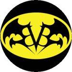 BLACK VEIL BRIDES: Bat (jelvény, 2,5 cm)