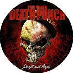 FIVE FINGER DEATH PUNCH: Jekyll (jelvény, 2,5 cm)