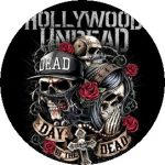 HOLLYWOOD UNDEAD: Day Of The Dead (jelvény, 2,5 cm)