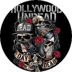 HOLLYWOOD UNDEAD: Day Of The Dead (jelvény, 2,5 cm)