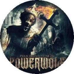 POWERWOLF: Preachers (jelvény, 2,5 cm)