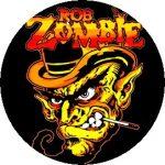 ROB ZOMBIE: Smokin' (jelvény, 2,5 cm)