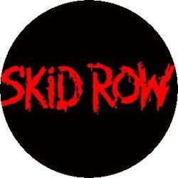 SKID ROW: Logo (jelvény, 2,5 cm)