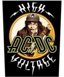 AC/DC: High Voltage (hátfelvarró / backpatch)