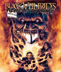 BLACK VEIL BRIDES: Alive & Burning (DVD, 82', kódmentes)
