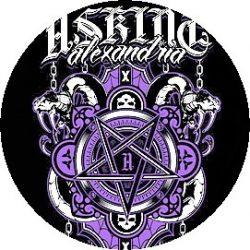 ASKING ALEXANDRIA: Pentagram (jelvény, 2,5 cm)