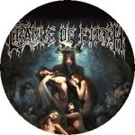 CRADLE OF FILTH: Hammer Of The Witches (jelvény, 2,5 cm)