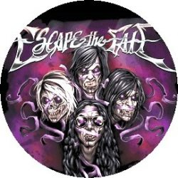 ESCAPE THE FATE: This War Is Ours (jelvény, 2,5 cm)