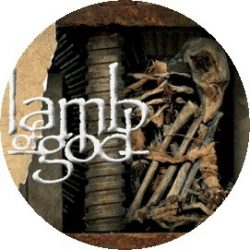 LAMB OF GOD: Sturm Und Drang (jelvény, 2,5 cm)