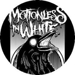 MOTIONLESS IN WHITE: Raven (jelvény, 2,5 cm)