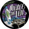 PIERCE THE VEIL: San Diego (jelvény, 2,5 cm)