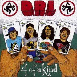 D.R.I.: 4 Of A Kind (CD)