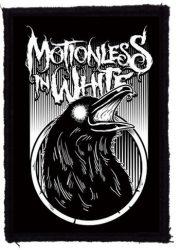 MOTIONLESS IN WHITE: Raven (75x95) (felvarró)